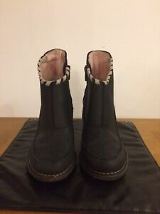 Terra plana Black Ankle Boots Size 4/37