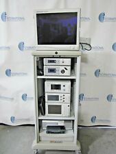 Stryker 1188 Camera System Stryker X8000 Light Source 21 Vision Elect Withcart