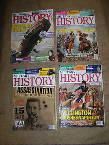4-BRITISH-MILITARY-HISTORY-RIVISTE-IN-BELLISSIMO-CONDITION-83-PAGINE-OGNI-REF103