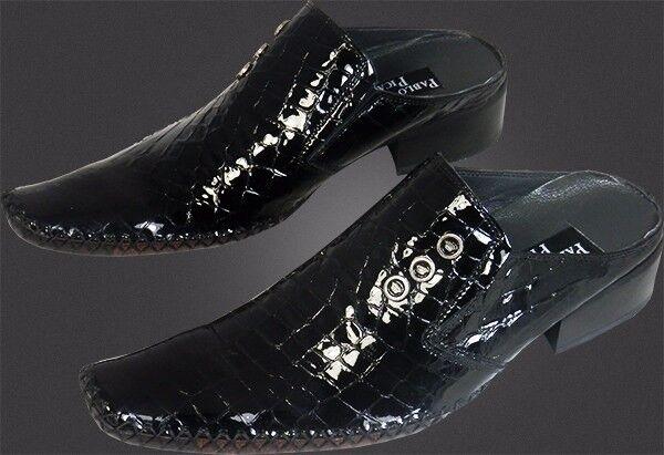 O.g PABLO PICASSO-Top ITALIANA DESIGNER krokomuster SLIPPER krokomuster DESIGNER handmade 41 06e5c0