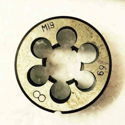HSS M19 × 1.25 mm Plug Tap Die Threading Tool for Machine  Right hand
