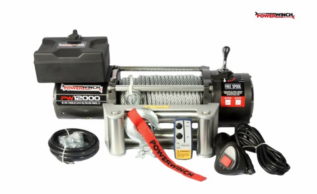 ELECTRIC WINCH 12V PW12000 lbs POWERWINCH ****NEW NEW NEW*** BEST OFFER IN EU