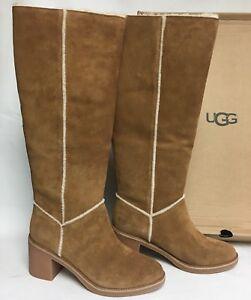 a1e47a50b1a Details about UGG Australia Kasen Tall Suede Knee High Boot 1018937  Chestnut Women's Shoes ~