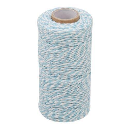 1 Rollo 100M metros Spool Cotton Bakers Twine Rollo De Colores Cordones Carrete Hazlo tú mismo Yu