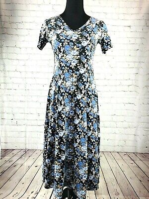 Miss Look 90s prairie dress maxie dress size M