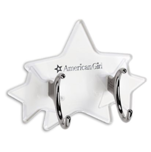 Fit For 18/'/' American Girl Star Box Black Case Doll Accessories Gift Wheel