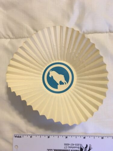 Vintage Great Northern Railroad Paper Cup Doilies Unused