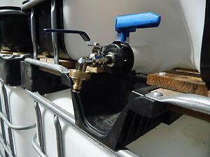 ibc adapter regenwassertank 3 4 auslaufhahn gardena f r 1000 liter wassertank ebay. Black Bedroom Furniture Sets. Home Design Ideas