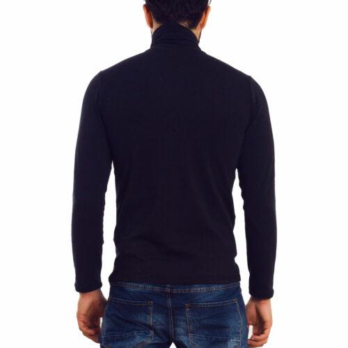 Col Haut Homme T-Shirt Dolcevita Douceur Col Roulé Toocool K107