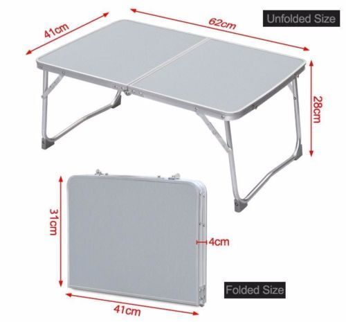 "24/"" Portable Laptop Desk Lap Table Stand Sofa Bed Tray Computer Notebook Desk"