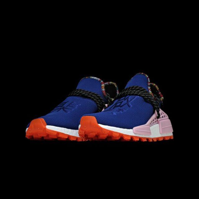 Adidas x Pharrell Williams Solar HU NMD Blau UK 7.5 EU 41,13 US 8 ee7579