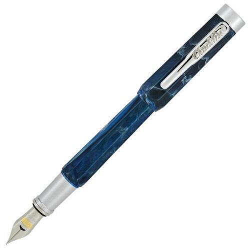 Stub 1.1mm Nib Ohio Blue Conklin Nozac Piston Fountain Pen