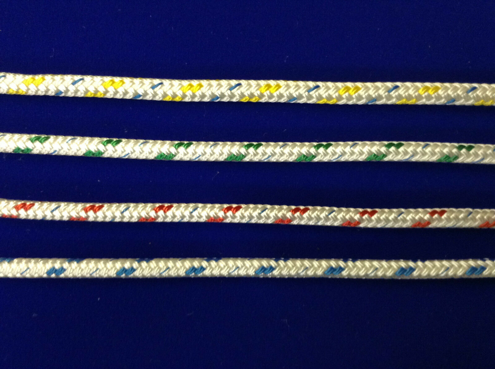 Braid on Braid Polyester Low Stretch Rope 8mm