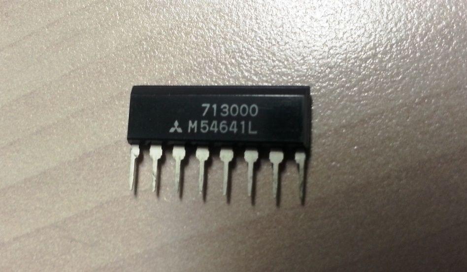 M54641L Integrated Circuit Mitsubishi CASE SIP8 MAKE