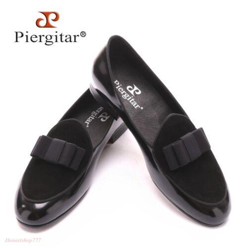 Hommes Nœud Papillon British Mariage Garçon Chaussures Oxford Slip On Mocassins Chaussures