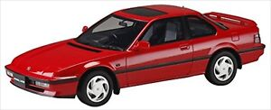 1-18-HONDA-Prelude-Si-Ba-5-Si-1989-Phoenix-Red-Resin-Model-Hj1804R-Hobby-JAPAN