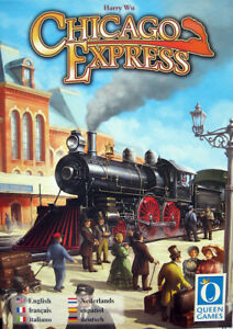 Jeu de societe Chicago Express - 2 a 6 joueurs - Neuf, emballe - Queen Games