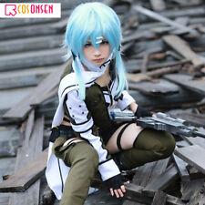 Sword Art Online Asada Shino Fighting Uniforms Sinon Cosplay Costume Full sets