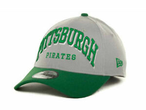 quality design d3619 d779f Image is loading Pittsburgh-Pirates-New-Era-39Thirty-St-Patricks-Arch-