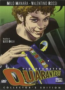 Dvd-QUARANTASEI-Valentino-Rossi-Box-Collector-039-s-Edition-Dvd-Book