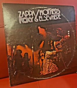 Frank Zappa Mothers Roxy Amp Elsewhere 2 Lp Set 1974 Us
