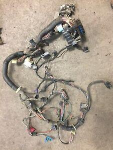 details about jeep wrangler yj 92 95 dash wire harness loom w rear wipe defrost 87 jeep yj wiring diagram jeep yj wiring harness ebay #10