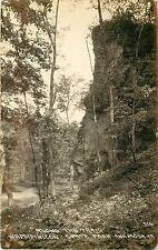 1907-20 RPPC Along the Trail Wapsipinicon State Park Anamosa IA Jones Co Unpostd