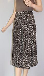 Kleidung & Accessoires Damenmode 80er 80s Vtg True Vintage Damen Rock Midi Skirt BlÜmchen Gr 38 S/m Floral Boho Ohne RüCkgabe