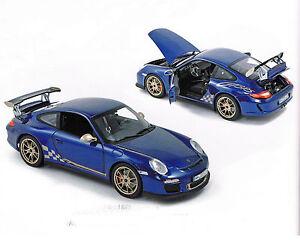 Porsche 911 Gt3 Rs - Bleu, Norev 1:18