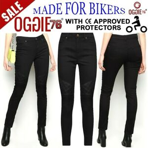 Women-Motorbike-Motorcycle-jeans-Reinforced-Ladies-Protective-bike-denim-trouser