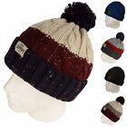 Tokyo Laundry Men's Women's Unisex New Knitted Bobble Winter Warm Ski Beanie Hat