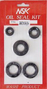 Suzuki 1973-1977 TS100 TC100 K/L/M/A/B Oil Seal Kit New 5pcs