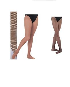 b8541a0283f83 Image is loading Ladies-Fishnet-Dance-Tights-Footed-Fishnet-Tights-Black-