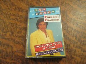 cassette audio les top d'amour de FREDERIC FRANCOIS