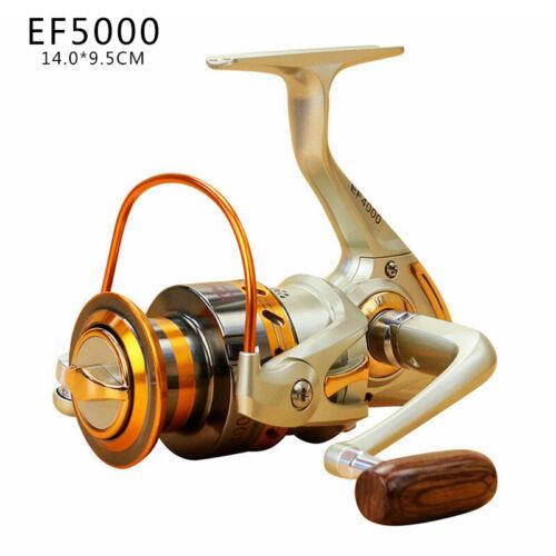 12BB Ball Bearing Metal Saltwater//Freshwater Fishing Spinning Reel EF Series SPE