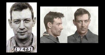 1951 Photo-Birdman of Alcatraz-Robert Stroud-Mugshot from Alcatraz Prison