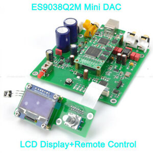 Audio & Video Replacement Parts Es9038 Q2m I2s Dsd Optical Coaxial Input Decoder Usb Dac Headphone Output Hifi Audio Amplifier Board Module Street Price