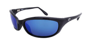 49dc634e01 Costa Del Mar Harpoon Men Sunglasses HR 11 Black   Blue Mirror 580G ...