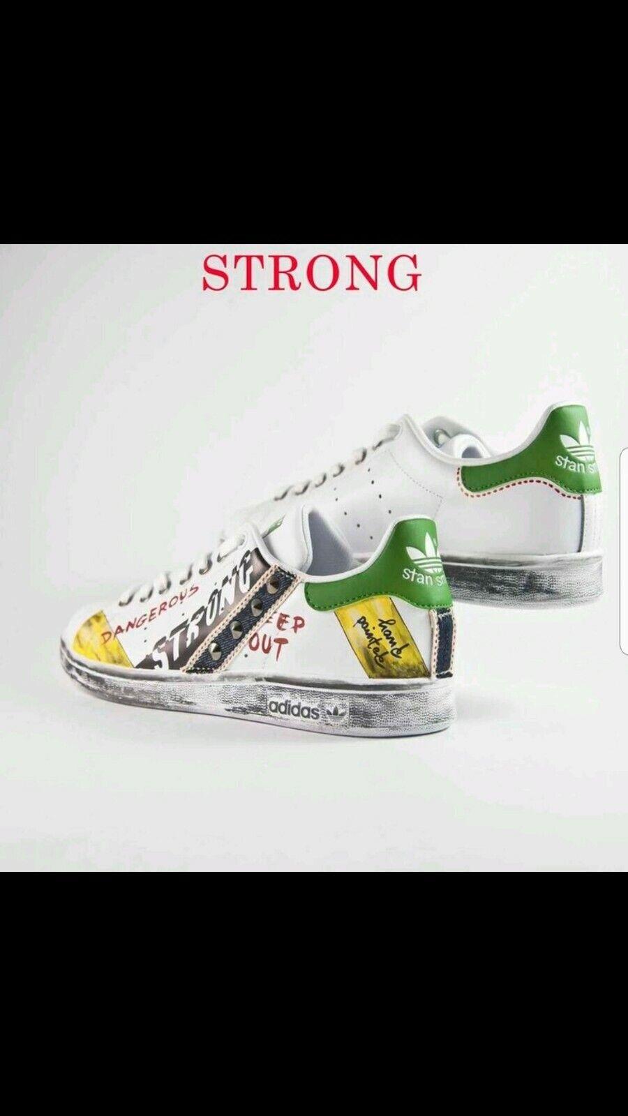 Schuhe Adidas Stan Smith Brauch Modell Strong