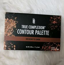 Black Radiance True Complexion POWDER Contour Palette, Medium/Dark Authentic