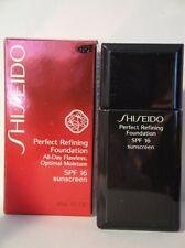 SHISEIDO PERFECT REFINING FOUNDATION  SPF15  BF40 LIKE  B40 1 OZ /3 0ML NIB