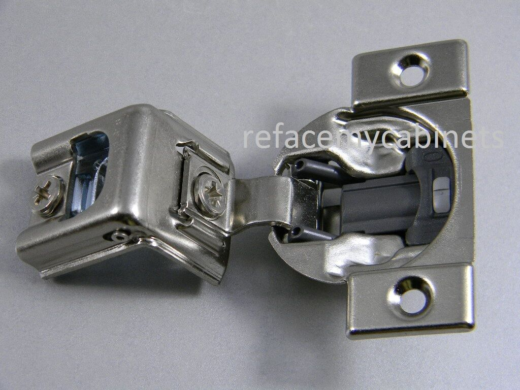 (20) blueM blueMOTION 39C  1 3 8  OVERLAY SOFT CLOSE CABINET HINGES 39C355B.22