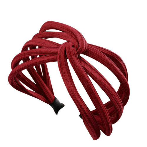 Weiblich InterlacedStirnband Twist Haarband Hoop Stirnband Headwrap Hoop