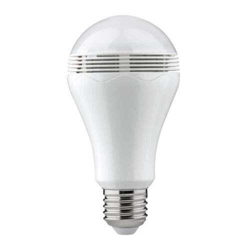 Paulmann DEL Ampoules Birnenform AGL 5 w e27 mat Bluetooth haut-parleurs