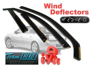 HEKO-25361 Wind Deflectors Fits Vauxhall VECTRA 2004-2008 5-Door Estate 4 Pieces
