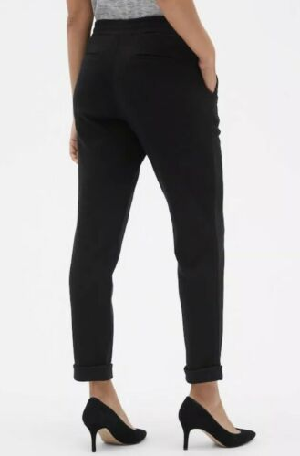 Gap Women's  Structured Joggers Cropped Pants Black  stylish XL XXL NWT 2XL