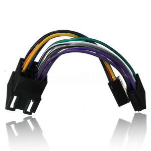 Cable-Adaptateur-Autoradio-ISO-Stereo-Pour-Peugeot-106-206-306-307-405-406-607
