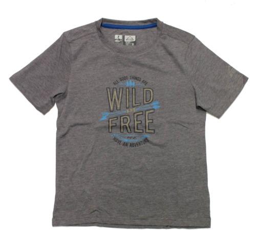 McKinley Bambini escursioni a piedi Tempo Libero Funzionale T-shirt tico con alla protezione dai raggi UV GRIGIO