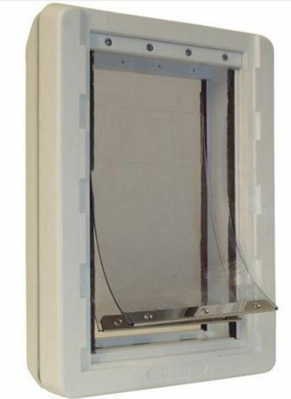 Perfect Pet by Ideal Ruff Weather Pet Door bianca, Extra Large