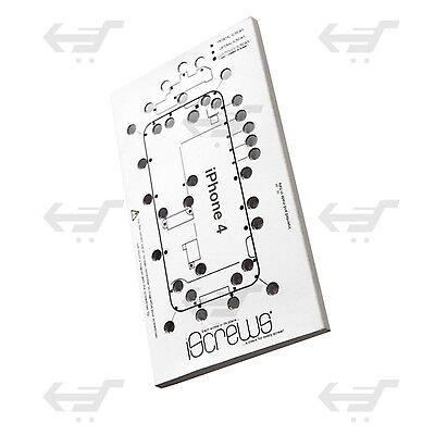 ISCREWS MAPPA VITI PER IPHONE 4 ISTRUZIONI RIPARAZIONE TOUCH DISPLAY LCD VETRO